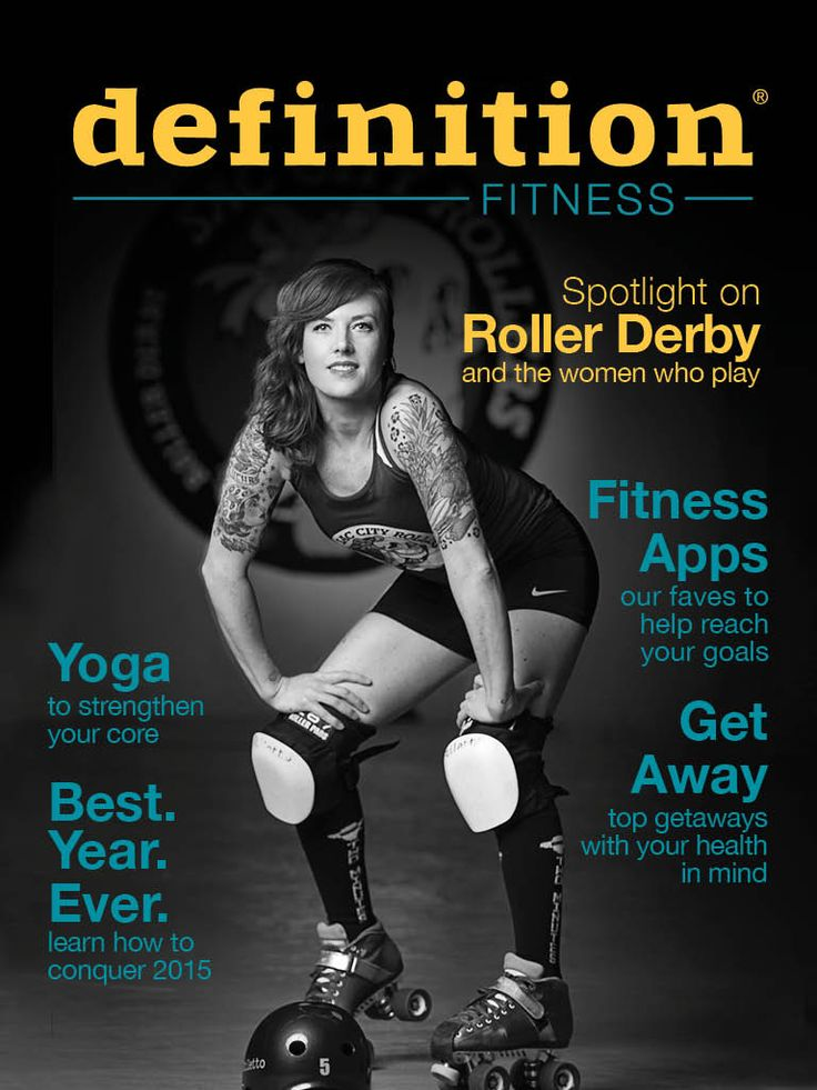 Definition issue 5 is now available! This issue spotlights the growing sport of roller derby and the vegan women who play, workouts to build and strengthen your core, tips on how to crush 2015, lusty vegan recipes to make on Valentine's Day, and more!