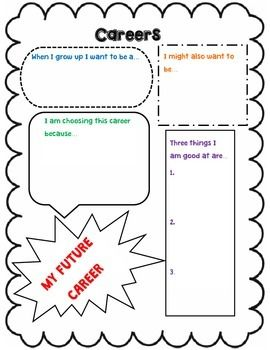 Printables Career Worksheets For Middle School 1000 images about elementary career counseling on pinterest my future worksheet