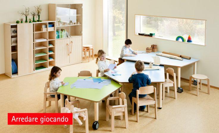 Arredo servizi all'infanzia Arredi scuola infanzia Arredamento asilo nido � LUDO VICO SRL