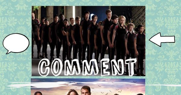 pin it (or repin, whatever)  for Harry Potter, comment for The Hunger Games, and like for Divergent | fangirling univesity | Pinterest | Harry potter, Divergen…