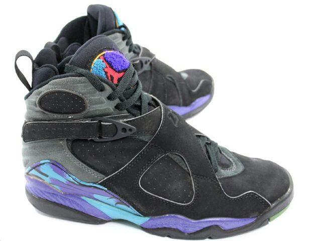 Jordan 8. First pair of Jordan's I owned.