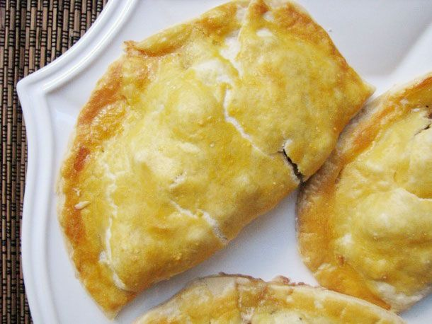 Cornish Pasty So good, and very easy. Make sure to chop the potato and
