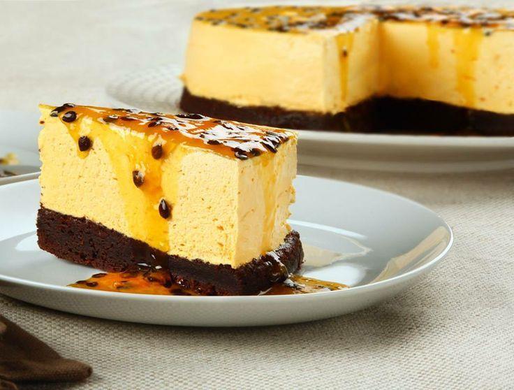 torta de maracuya/Peruvian dessert