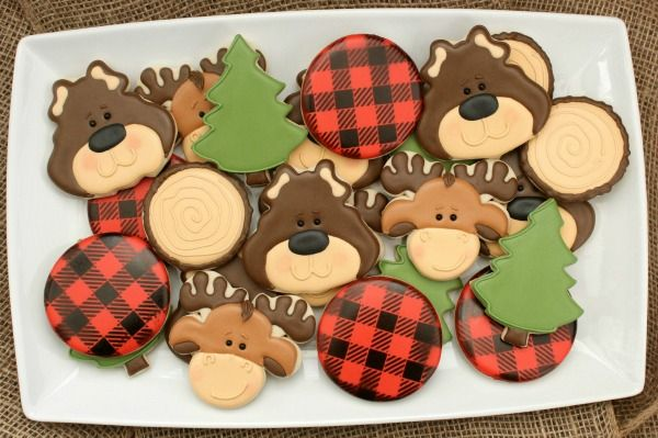 Decorated Bear Cookies
