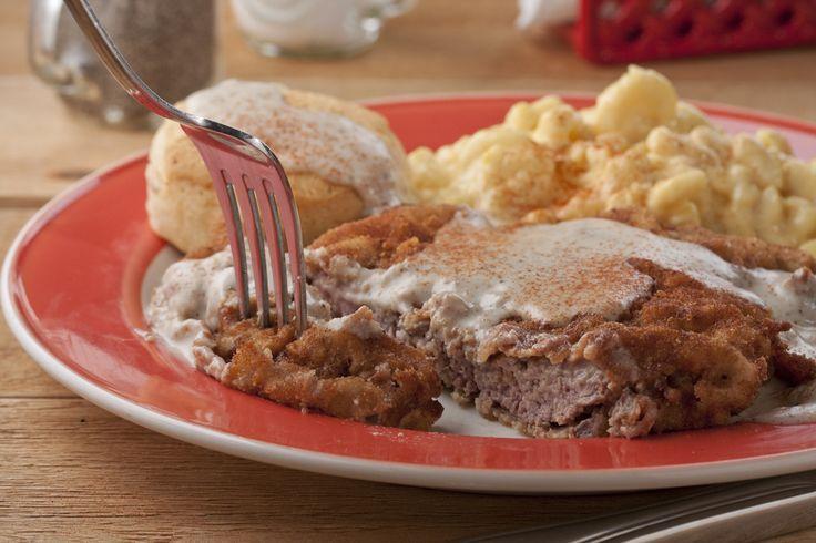 Redneck Chicken-Fried Steak | mrfood.com
