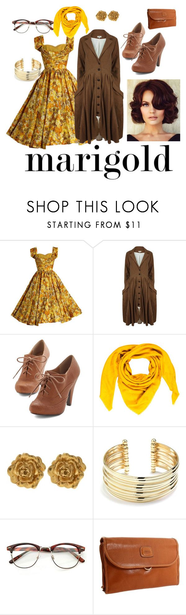 """""""Untitled #183"""" by breedeevee on Polyvore featuring A - M M - E, Goyard, Liberty, Belk Silverworks and Bric's"""