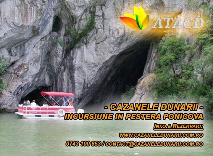 Daca ai ajuns in zona turistica Cazanele Dunarii si esti nerabdator sa observi frumusetile acestei zone, te invitam sa faci o incursiune la Pestera Ponicova. Aceasta este compusa din galerii largi care comunica intre ele si care totodata sunt situate pe 2 etaje. Rezerva-ti acum sejurul in zona turistica Cazanele Dunarii si viziteaza Pestera Ponicova. Detalii la numarul de telefon 0743 100 853 sau pe http://cazaneledunarii.com.ro/obiective-turistice/pestera-ponicova/
