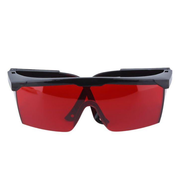 Kacamata perlindungan Laser Kacamata Pelindung Kacamata Keselamatan Kacamata Mata Hijau Biru Merah Warna Merah