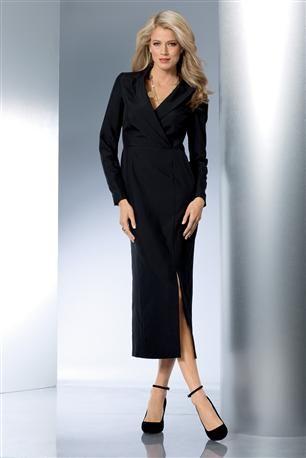 Long-Column-Coat-Dress @ Metrostyle Sale Price: $24.99, Original: $49.99