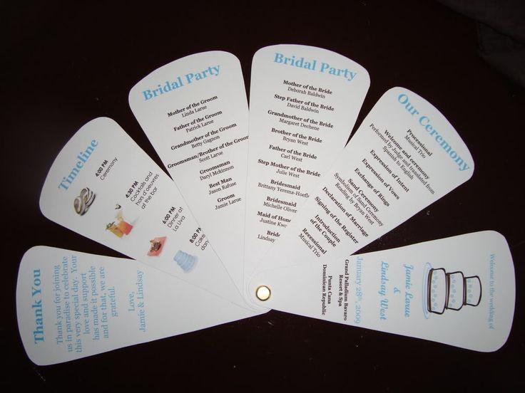 Best 25 diy wedding giveaways ideas on pinterest wedding best wedding fan program idea ive seen diy solutioingenieria Choice Image