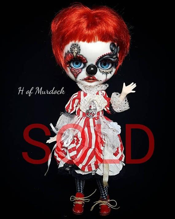 Ember the Clown SOLD