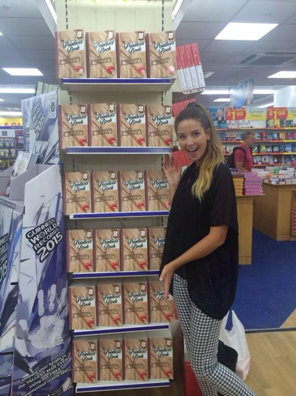 Zoe with Alfies book