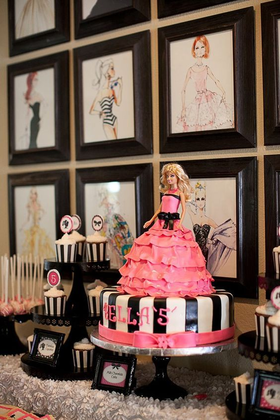 10 Ideas For 3 Year Old Birthday Celebration Party In 2020 Barbie Birthday Party Barbie Birthday Barbie Party