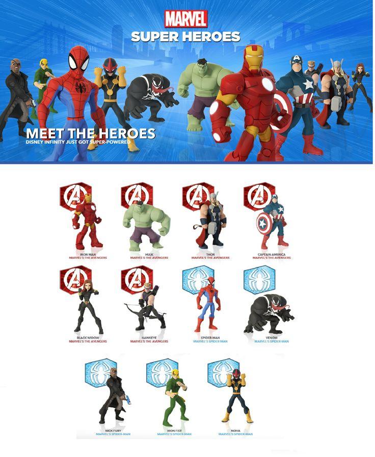 Marvel Super Heroes 60 Superhéroes: Disney Infinity 2.0 Marvel Super Heroes 2014