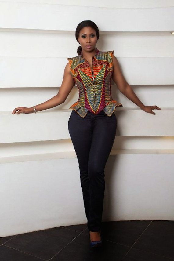 Hey, I found this really awesome Etsy listing at https://www.etsy.com/listing/227819256/african-peplum-top-ankara-peplum-top