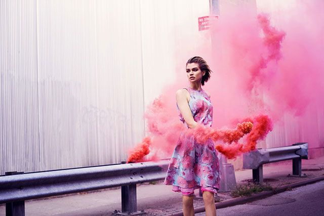 Smoke Bomb Photography examples 38