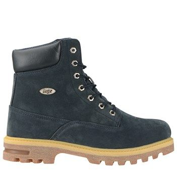 Lugz Men s Empire High Water Resistant Slip Resistant Boots NavyCream Gum