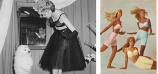 Berlei was the first to introduce coloured women's underwear in the 70s