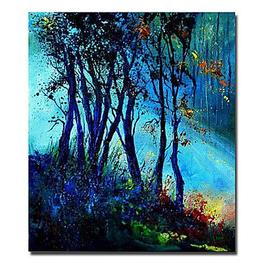 Landscape Oil Painting Hand-Painted Canvas Wall Art Other Artists One Panel Ready to Hang – USD $ 129.99