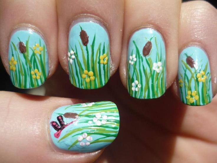 Mejores 1499 imágenes de Nail en Pinterest   Uñas bonitas, Diseños ...
