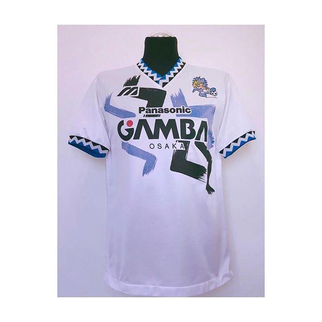 506b5def060 The trim on this 92 Gamba Osaka x Mizuno shirt  cultfootball Link in bio