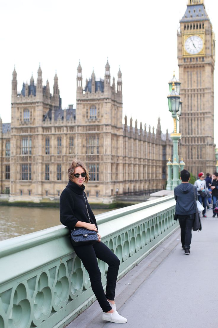 At the foot of Palace of Westminster