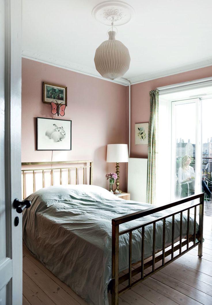 Skønt soveværelse i vintage stil
