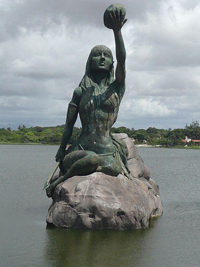 Estátua de Iracema (Índia  personagem do livro de José de Alencar)