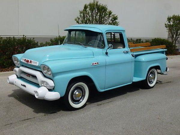 58 Quot Chevy Trk Chevy Truck S Pinterest