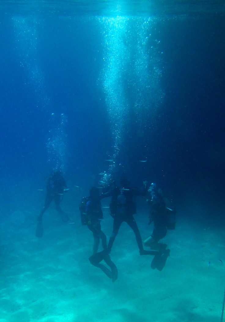 Join Florida Blue Bay Resort's diving groups. Photo by Hannah Catherine Kapsaski.