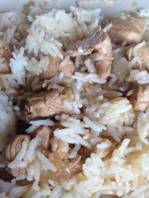 Sauté de volaille au gingembre, sauce soja et miel