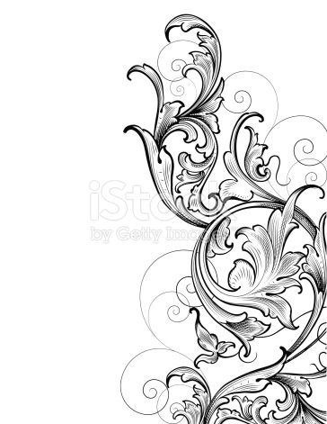 Designed by a hand engraver, this carefully drawn and highly detailed intertwining scrollwork can be used a number of ways. Easily change the scroll colors. Scale to any size without loss of quality...