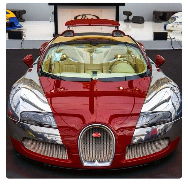 Bugatti Veyron Roadster: Not My Fave... But Like The Color