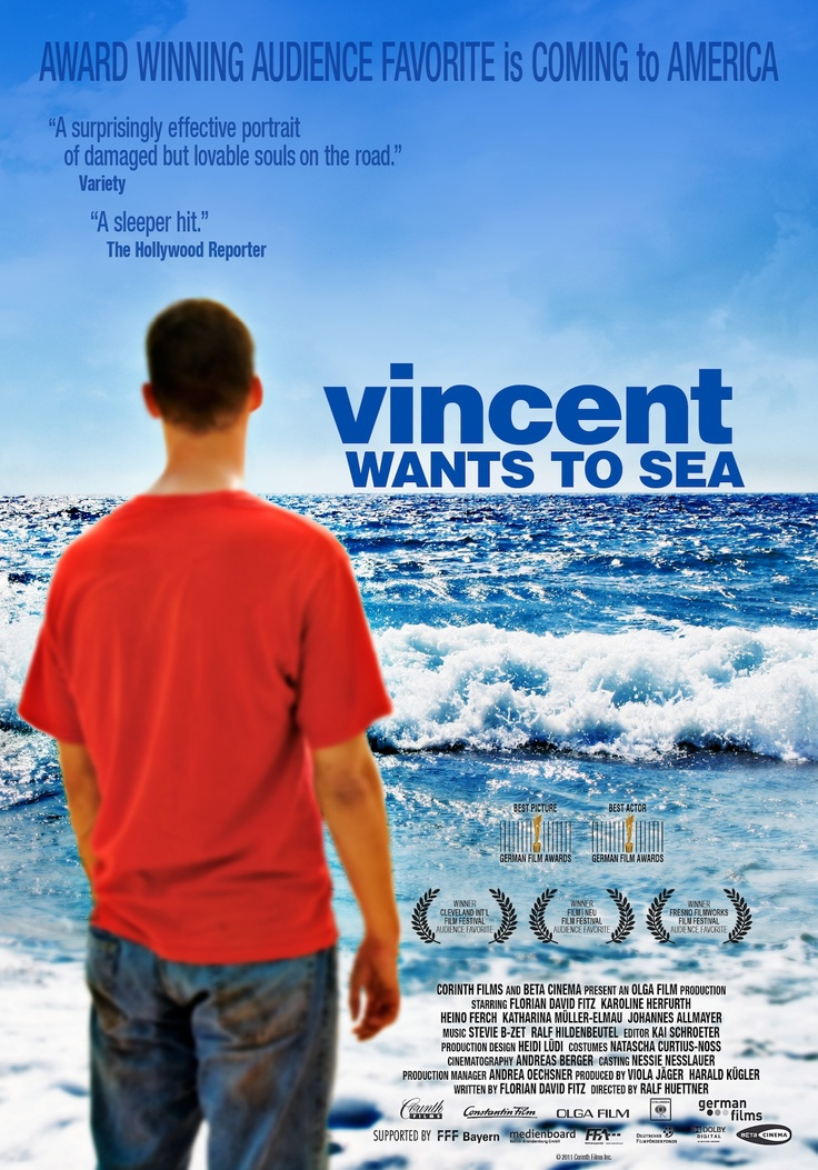 Vincent Wants to Sea Movie Poster