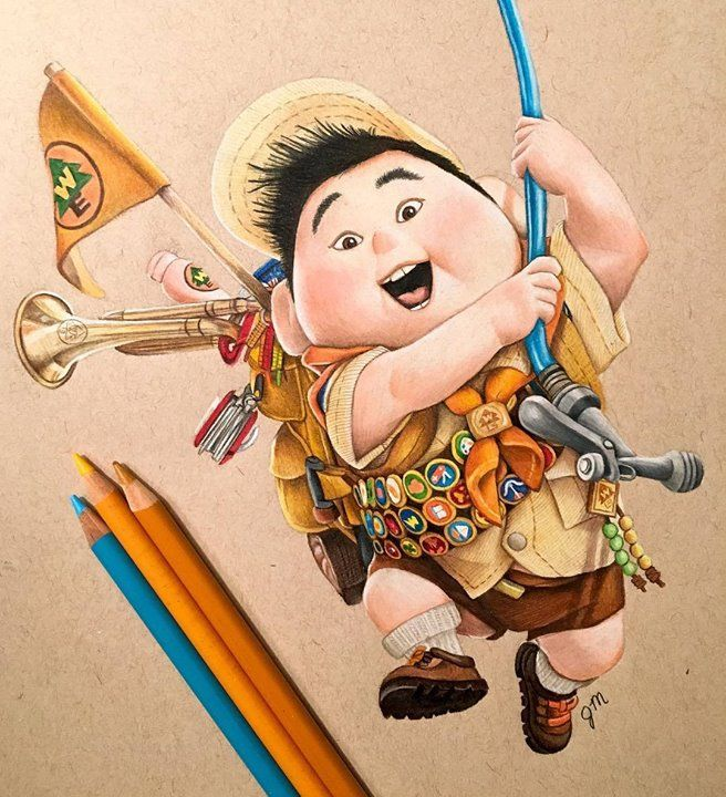 85 best images about Colored Pencils Drawings on Pinterest