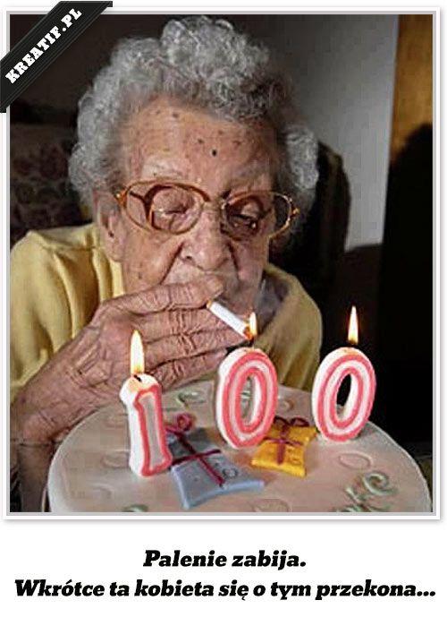 Palenie papierosów zabija. Wkrótce ta kobieta się o tym przekona...