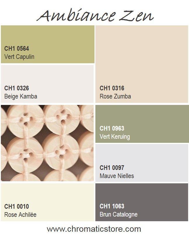 Le style zen se caractérise par son minimalisme. Les tonalités poudrées et apaisantes se marient parfaitement aux matières naturelles telles que le bois clair, le lin ou la pierre. www.chromaticstore.com #deco #zen