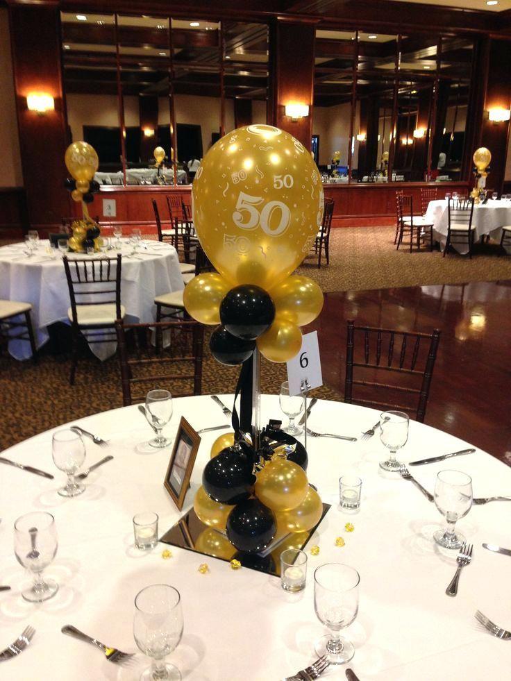 70th Birthday Centerpieces Ideas