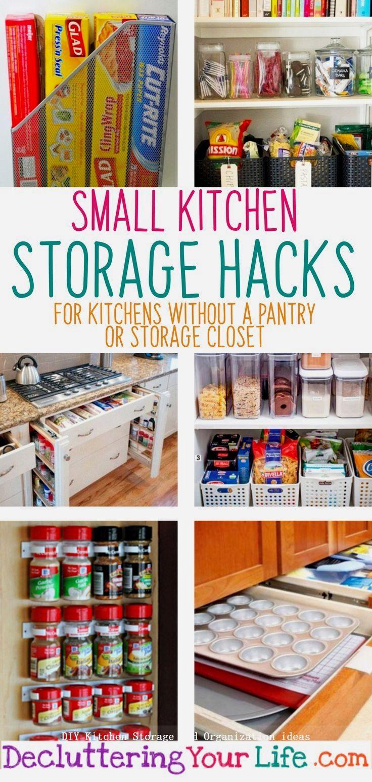 10 insanely sensible diy kitchen storage ideas 3 1 kitchen storage hacks kitchen without pantry on kitchen organization diy id=14623