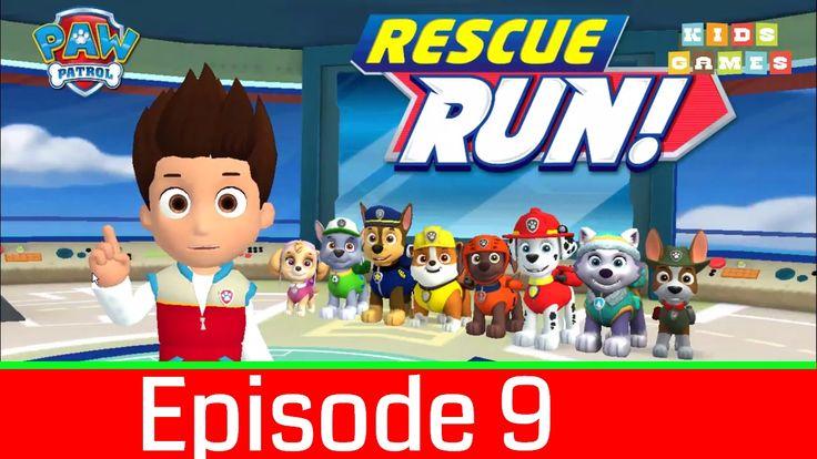 Nickelodeon Games to play online 2017♫Paw Patrol Rescue Run 2017 Episode 9♫ Kids Games