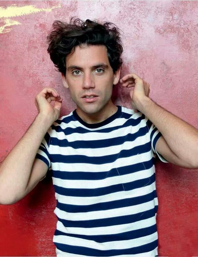 Mika for Le Parisien photoshoot Sept 2012