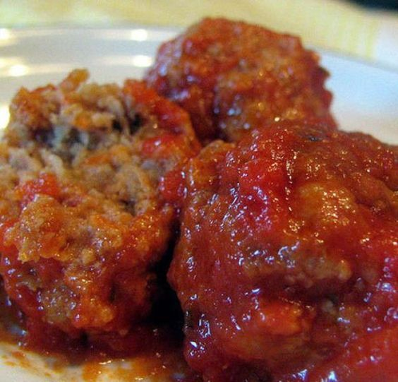 Grandma's Italian Meatballs Recipe - now officially my favorite meatball recipe.