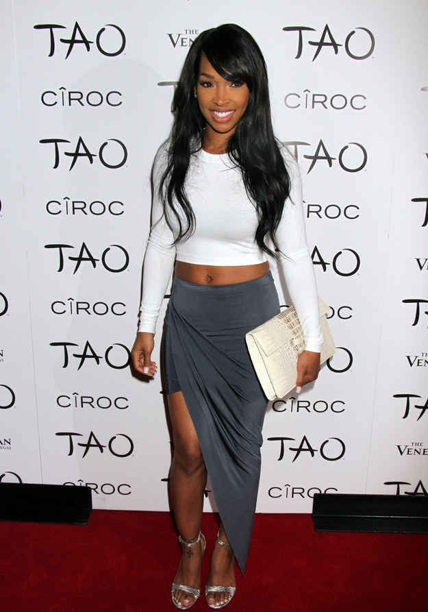 1. Malika Haqq At Khloe Kardashian's 30th Birthday Party At Tao Las Vegas | The Most Fab And Drab Celebrity Outfits Of The Week