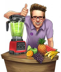 Blender Dude - this guy tells what parts of the fruit are edible.