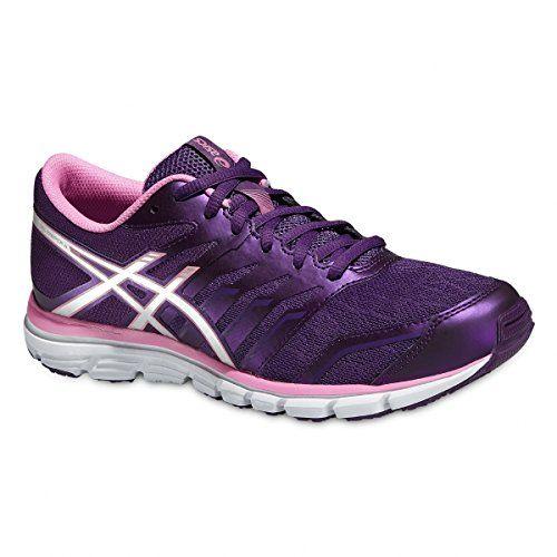 Gt-2000 5, Chaussures de Running Femme, Multicolore (Pink Glow/White/Dark Purple), 36 EUAsics