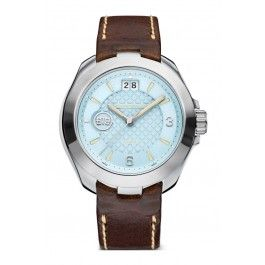 Koop dit Buddha to Buddha Accelerator NO.3 Race horloge BTB.F.R.3H.3.1 horloge online in onze webwinkel.                     Dit is een dames horloge met een quartz uurwerk.                             De kleur van de kast is zilver en de kleur van het uurwerk is blauw.                             De kast is gemaakt van rvs en de band van het horloge van leer.                             Het uurwerk is analoog en er wordt gebruik gemaakt van saffierglas.                        ...