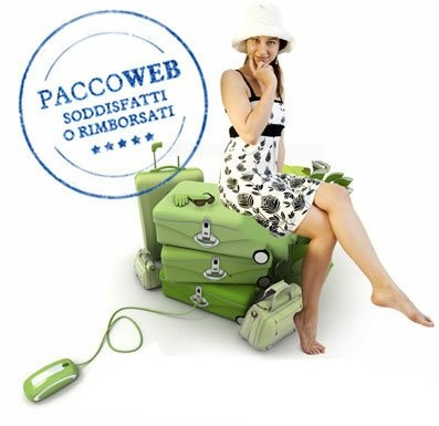 Arrivano le vacanze, con Poste Italiane potete spedire i vostri bagagli in tutta Italia.