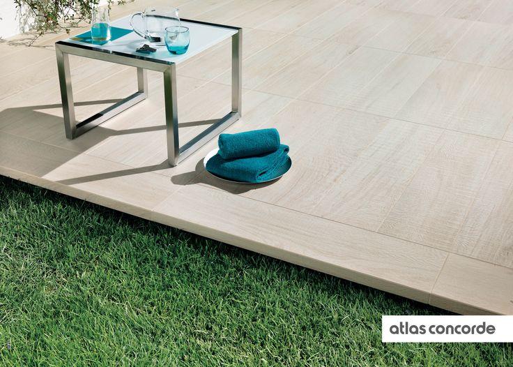#ETIC   #Rovere bianco   #Textured   #AtlasConcorde   #Tiles   #Ceramic   #PorcelainTiles