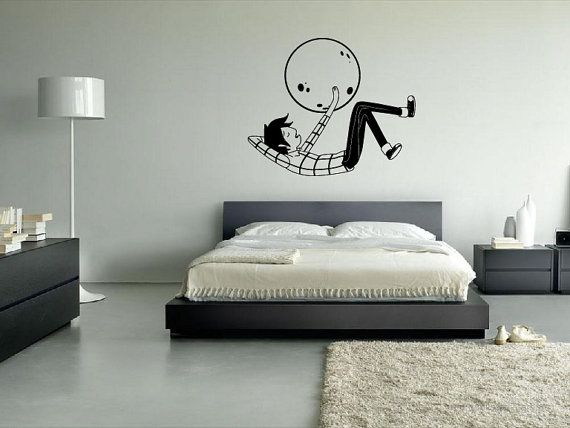Marshall Lee Wall Decal Adventure Time. $35.00, via Etsy.