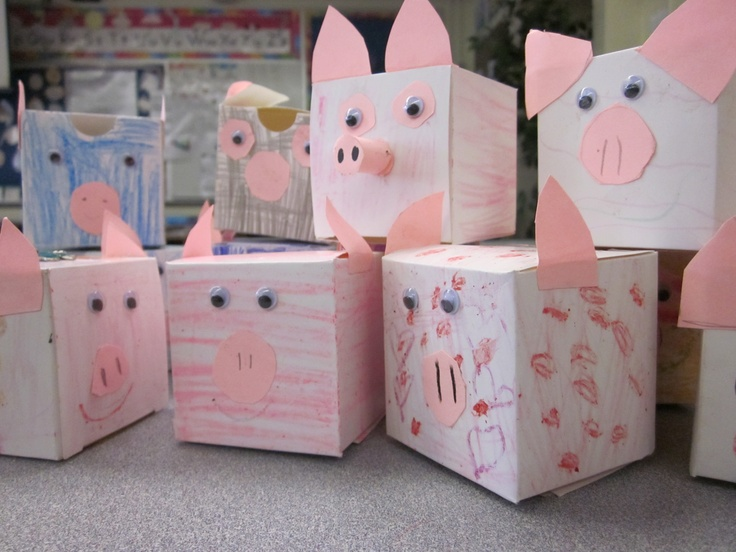 Home-made Piggie Banks! While learning about money in math, our class discussed the difference between saving and spending in Social Studies. Our class made piggy banks to help save money for something special to buy.